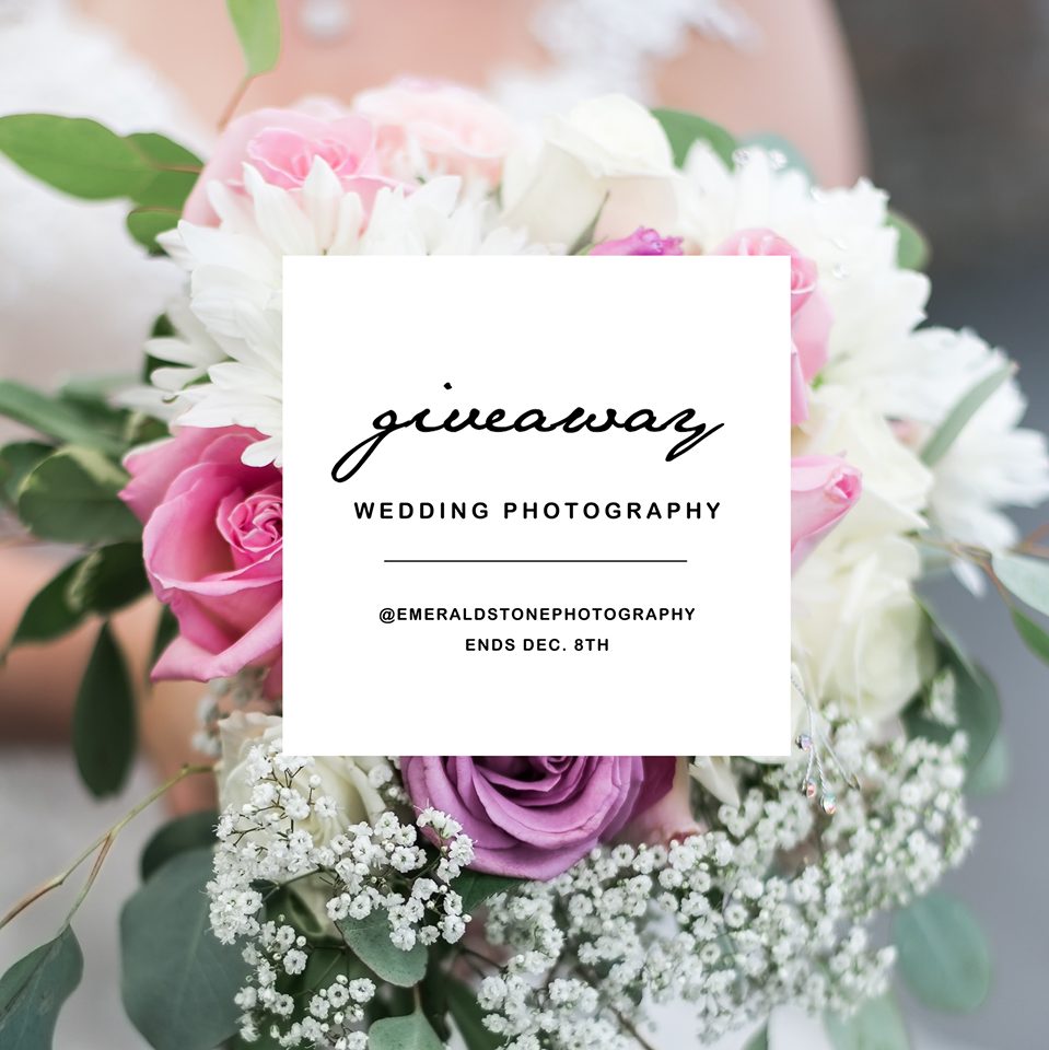 2nd Annual Wedding Photography Giveaway